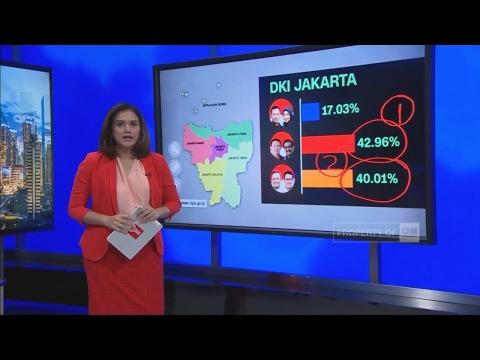 Ini Dia Hasil Hitung Cepat Pilkada DKI 2017 Versi KPU