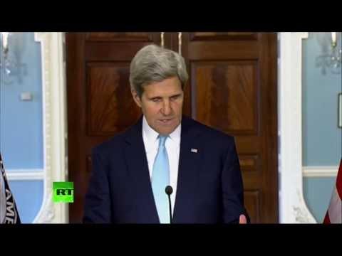 Заявление госсекретаря США Джона Керри по ситуации в Сирии