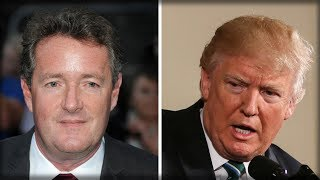OUT OF LEFT FIELD PIERS MORGAN ADMITS SHOCKING TRUTH ABOUT TRUMP AND THE MEDIA