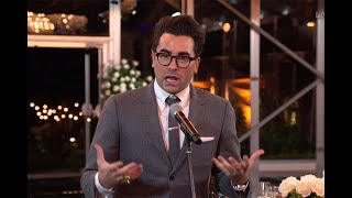 72nd Emmy Awards: Dan Levy Wins for Outstanding Writing for a Comedy Series