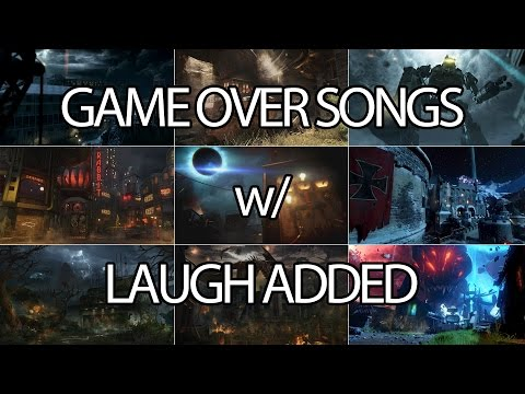 Zombie Game Over Songs w/ Laugh Added (Mob of the Dead - Revelations)