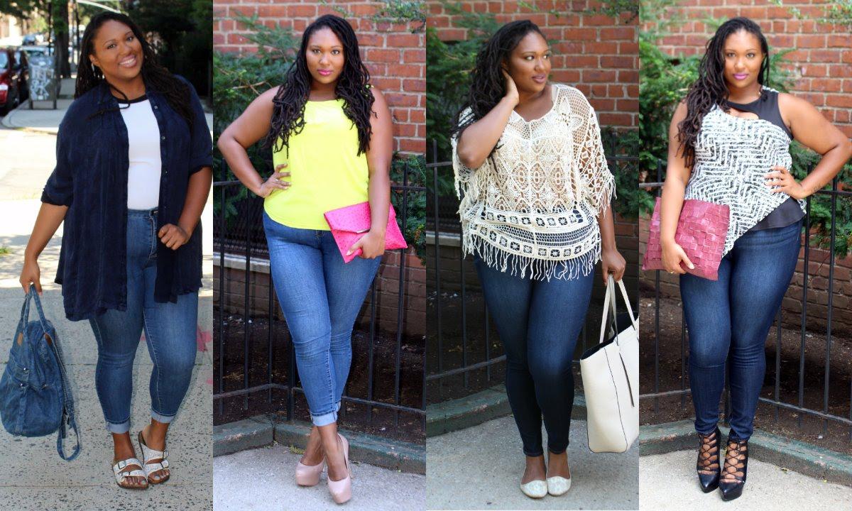 Plus Size Fashion| Fashion to Figure Skinny Jeans - YouTube