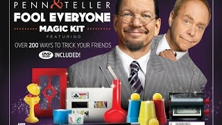 penn & teller magic kit review