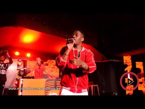Coke Studio: Jason Derulo, Ray Vanny live performance in Nairobi