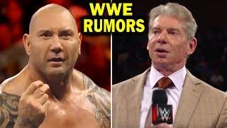 10 WWE LEAKED News and Rumors DECEMBER 2017