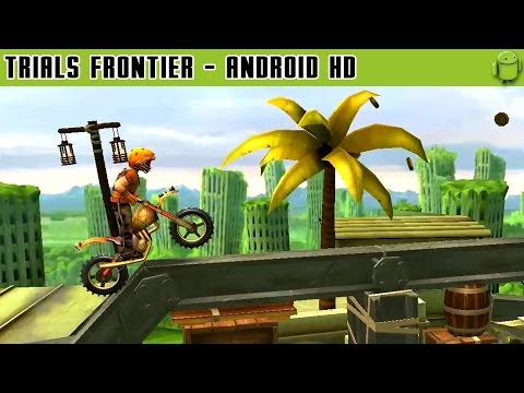 Trials Frontier - Gameplay Android HD / HQ Audio (Android Ga