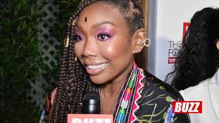 Brandy stops by to support Sheryl Lee Ralph's 'Diva's Simply Singing' Charity Event