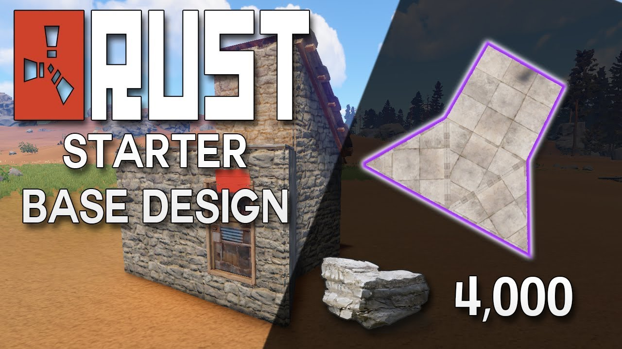 Rust starter base design latest update rust base building 4000 rust starter base design latest update rust base building 4000 stone malvernweather Images