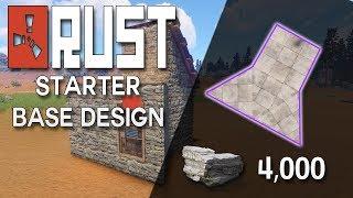 Rust blueprint update starter base solo cheap clipzui rust starter base design latest update rust base building 4000 stone malvernweather Choice Image