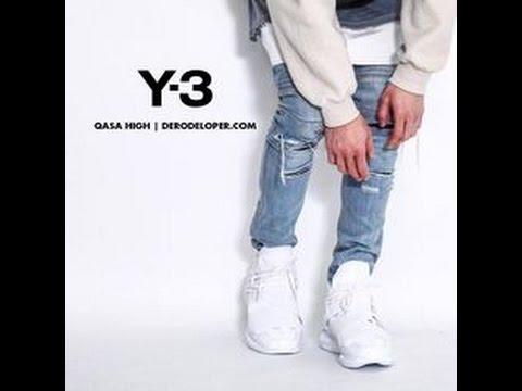 0df57cfa00572 Y-3 QASA HIGH REVIEW TRIPLE WHITE - CRAZY PRICE!!!! - YouTube