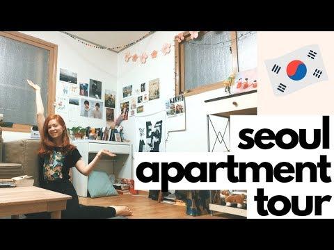 My New Apartment in Seoul Tour | $440/month in Korea [Zigbang Tutorial]