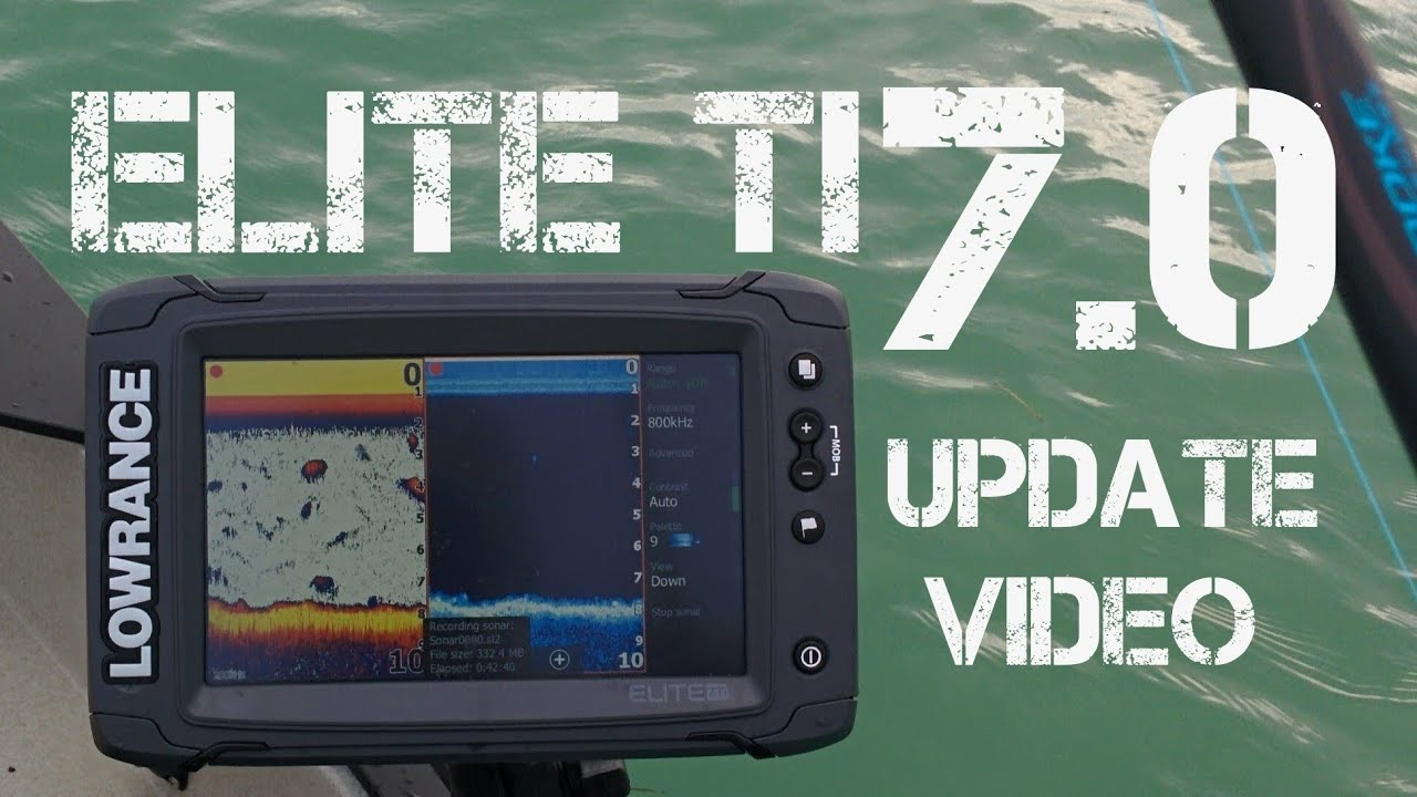 Lowrance Elite 7 Ti Pt 7 - Software Version 7 0 Update Settings and Features