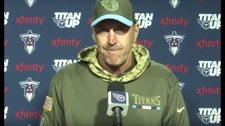 Titans Coach Mike Mularkey Press Conference #CINvsTEN