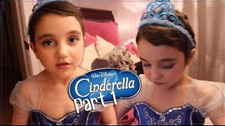 Cinderella Inspired Makeup Tutorial (Disney Princess) Make A Wish edition part 1