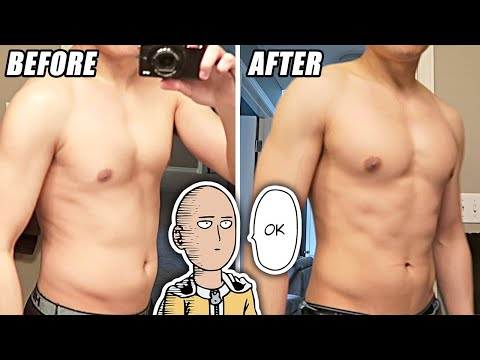 Saitama Workout Challenge - Does Training Like One Punch Man Actually Work? The ...