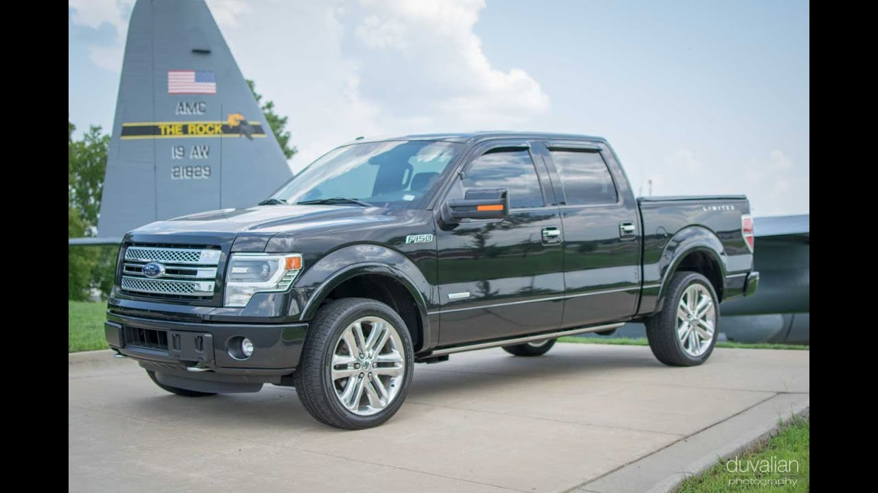 Ford F 150 Limited >> 2014 Ford F-150 Limited 4WD Walk Around / Drive - YouTube