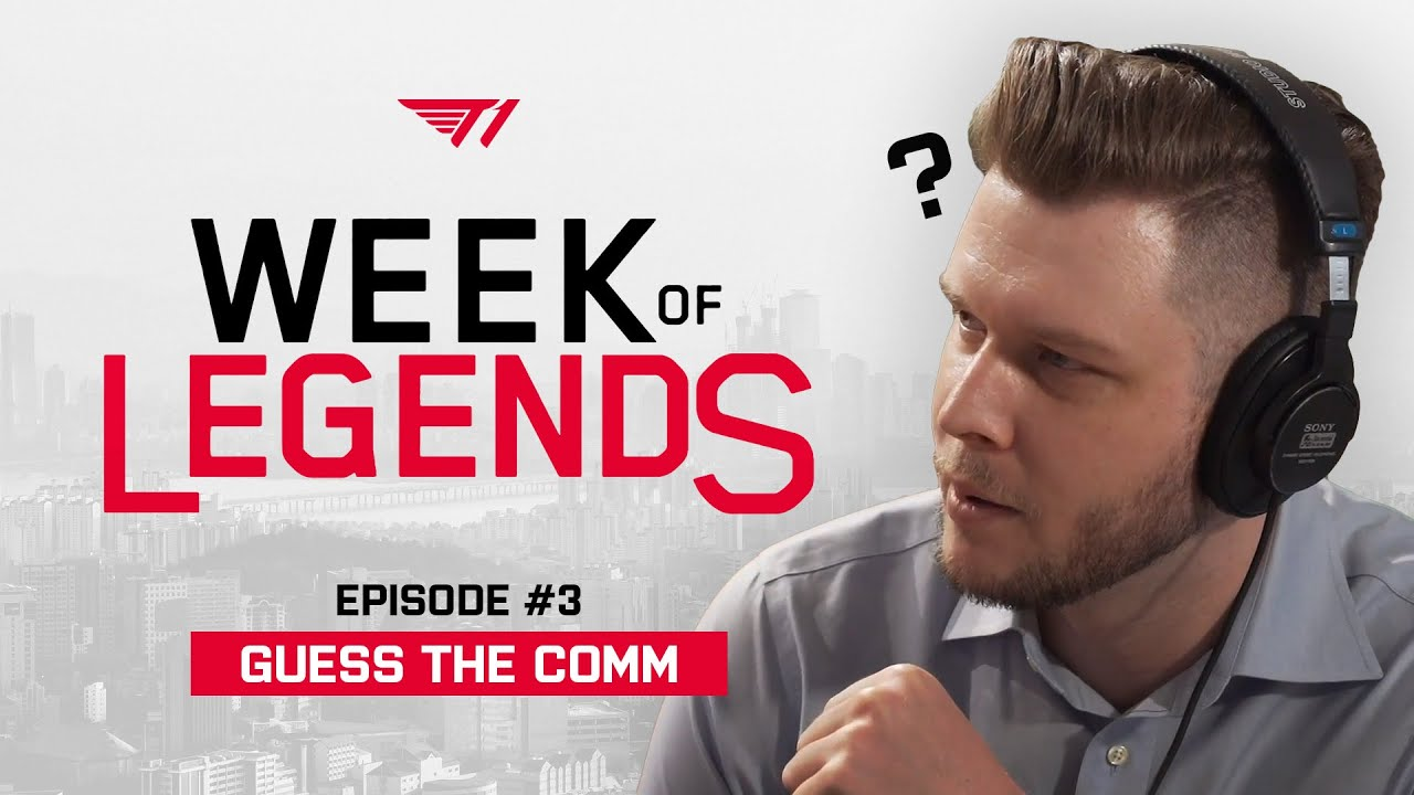 Guess that Comm, LCK Edition with ATLUS | Week of Legends - Episode 3