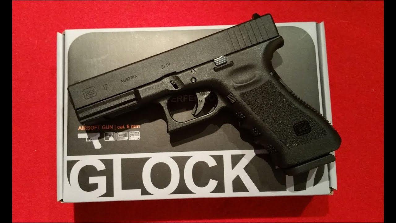 Umarex / VFC / Glock 17 Airsoft 6mm GBB Gen 3 / Review / Test / german /  deutsch