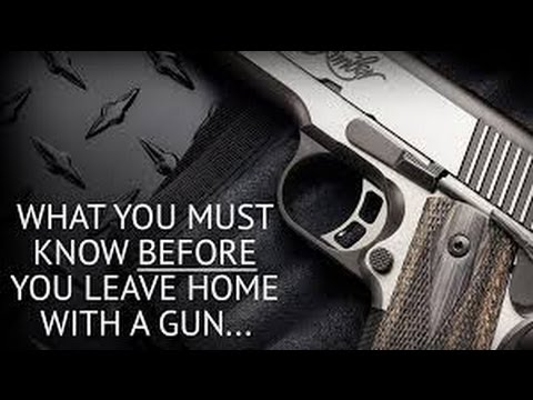 5 Things to consider before you get a CCW