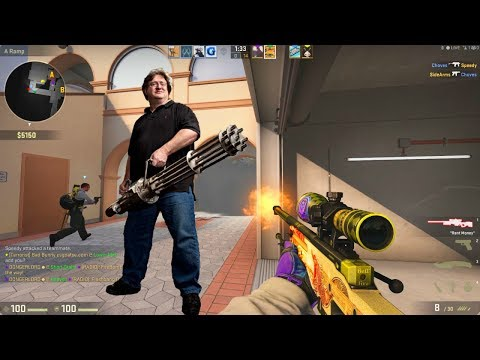 NEW MAP!? NOT NUKE? Famous Spanish Singer!? CS:GO Competitive With The Crew!