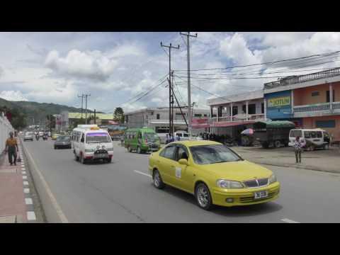 アキーラさん散策③東ティモール・ディリ市街地!  Dili city in East Timor