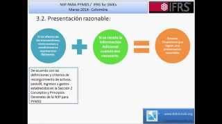 NIIF PARA PYMES Seccion 3 Presentacion de Estados Financieros