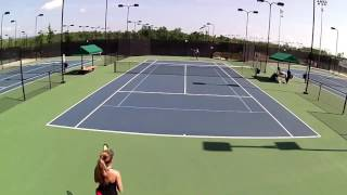 Grace Forbes Tennis Recruiting Video - Class of 2019