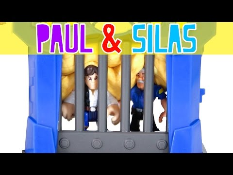 Paul and Silas BIBLE STORY FOR KIDS | Acts 16 16-40 | New Vintage Bible Church