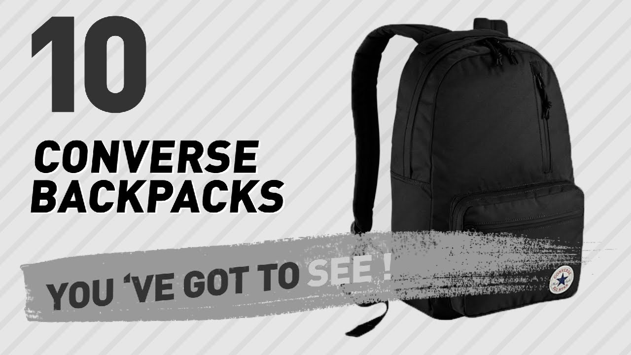 1680e22c01 Top Backpacks By Converse    New   Popular 2017 - YouTube
