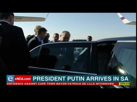 BRICS 2018 - Vladimir Putin is in South Africa
