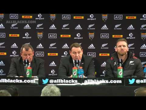 LIVE: All Blacks v British & Irish Lions press conference