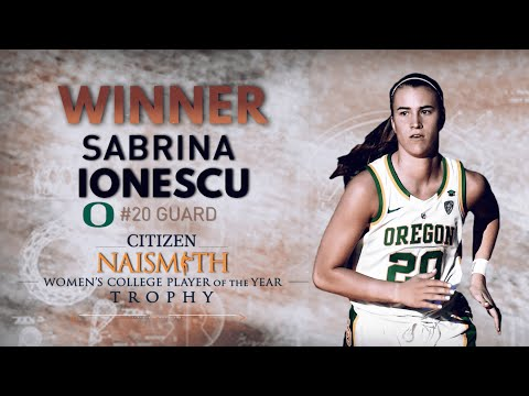 Oregons Sabrina Ionescu named Naismith Women's Basketball Player of the Year  CBS Sports HQ