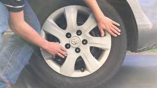 How to remove hubcaps with no tools!