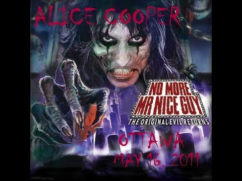 Alice Cooper Live in Ottawa May 16,  2011 FULL SHOW!!