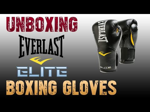 Unboxing #Everlast Elite #Boxing Gloves 16 Oz | #BoxingInTelugu | #ShadowBoxingStudio