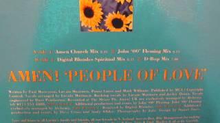 Amen UK  People of Love   Digital Blondes Spiritual mix 1997