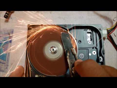 3 Best ideas - what can be made from an old Hard drive (HDD)   Tools sharpner