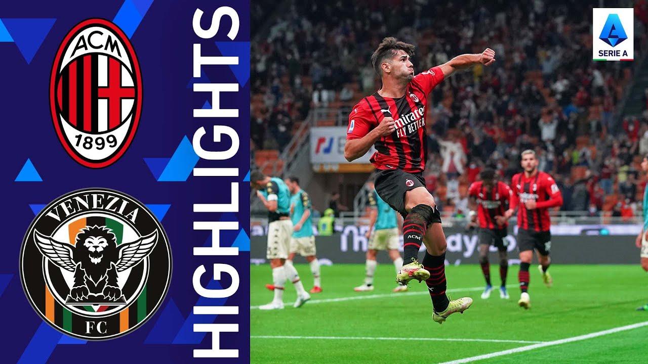 Download Milan 2-0 Venezia | Milan continue their positive streak | Serie A 2021/22