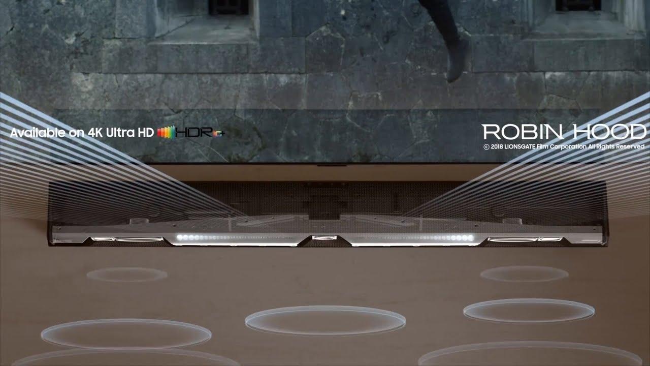 Q-Series Soundbar: Synchronized harmony | Samsung