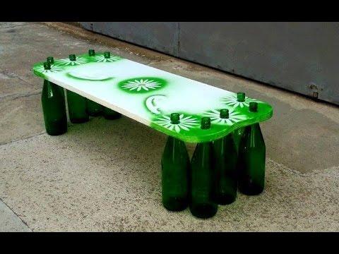 Tavolo con delle bottiglie di vetro youtube - Tavolo di plastica ikea ...