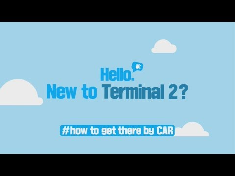 [Incheon Airport] New to Terminal 2? #how to get there by CAR _ENG