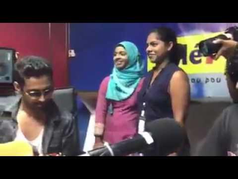 || Sanam @ Radio Plus in Mauritius ||