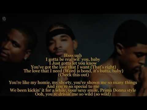 Next - Butta Love (Lyric Video) [HQ]