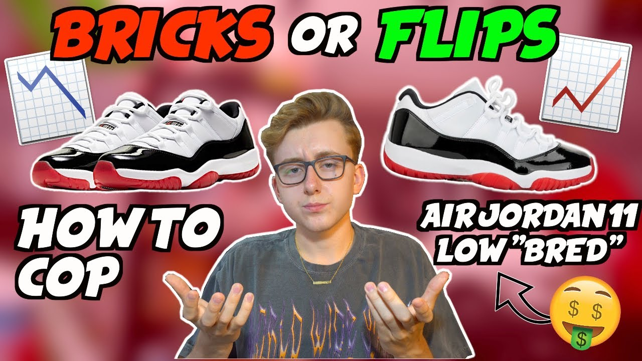 Bricks Or Flips Nike Air Jordan 11 Low Concord Bred Must Cop