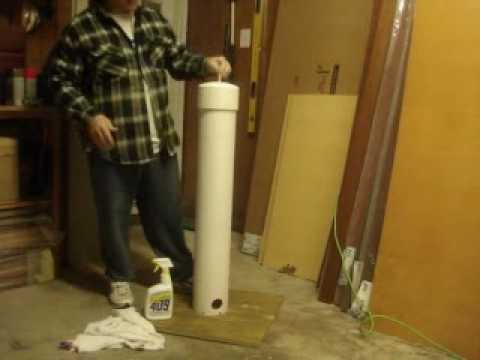 The red neck deer feeder youtube for How to build a deer feeder out of pvc pipe