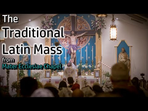 The Traditional Latin Mass - Sat, Mar. 27th, 2021