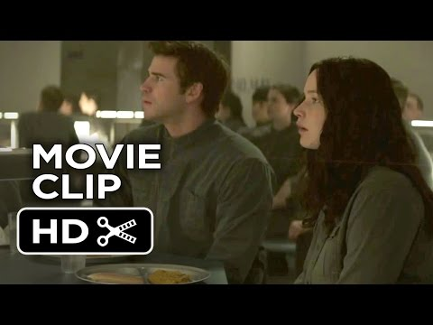 The Hunger Games: Mockingjay - Part 1 Movie CLIP - You're Alive (2014) - THG Movie HD