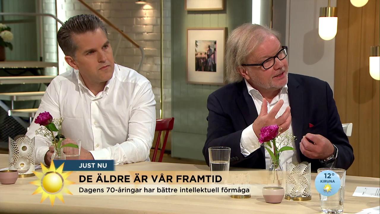 """Professorn: """"70 är det nya 20"""" - Nyhetsmorgon (TV4)"""