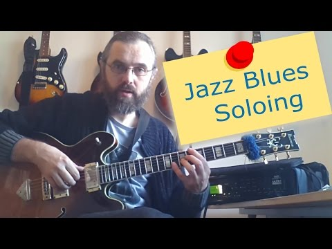 Jazz Blues Soloing