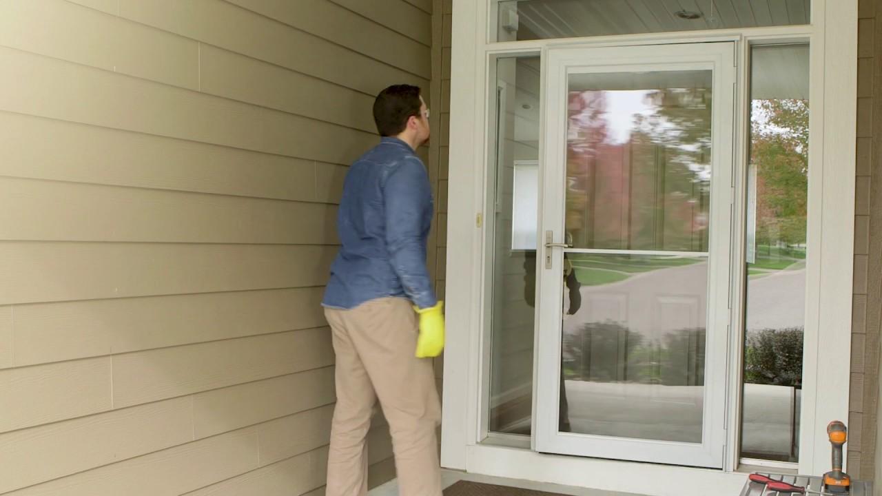 Installing Storm Door Rapid Install 1